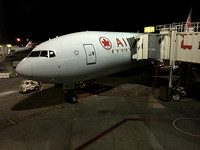 Air Canada B777 Parked At The Gate In Vancouver