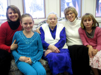 Steinbach Visit - Grandma's 100th Birthday